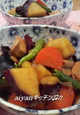 秋の煮物☆さつまいものこってり煮