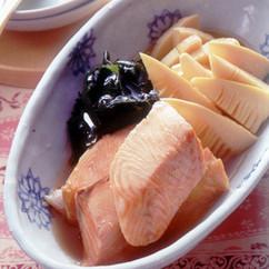 鮭とたけのこの和風煮