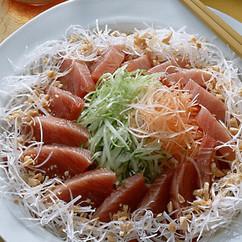 鰹の中国風サラダ