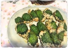 豆腐入り♪大葉のふわふわ餃子