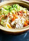 超簡単野菜どっさりキムチ鍋