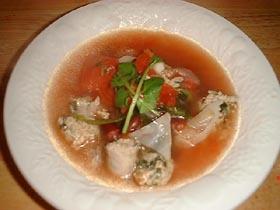 イタトマソーセージスープ