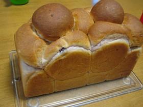 紫芋と豆乳の食パン