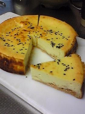 秋のチーズケーキ(さつまいも)
