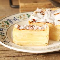 りんごとチーズのガトーインビジブル