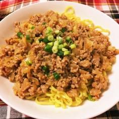 簡単☆ジャージャー麺風?☆肉味噌めん