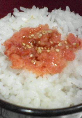 韓国料理に合う♪明太子ごはんのアレンジ