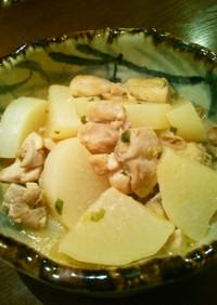 鶏肉と大根の中華風煮物