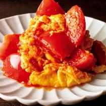 トマトのふわふわ卵炒め
