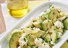アボカド豆腐のオリーブオイル仕立て