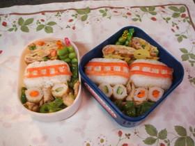 幼稚園のキャラ弁(近鉄電車)