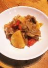 梅干しと焼肉のタレで作る 豚肉と野菜炒め