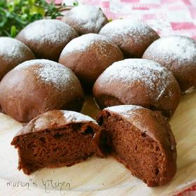 ダブルチョコレートのふんわりちぎりパン