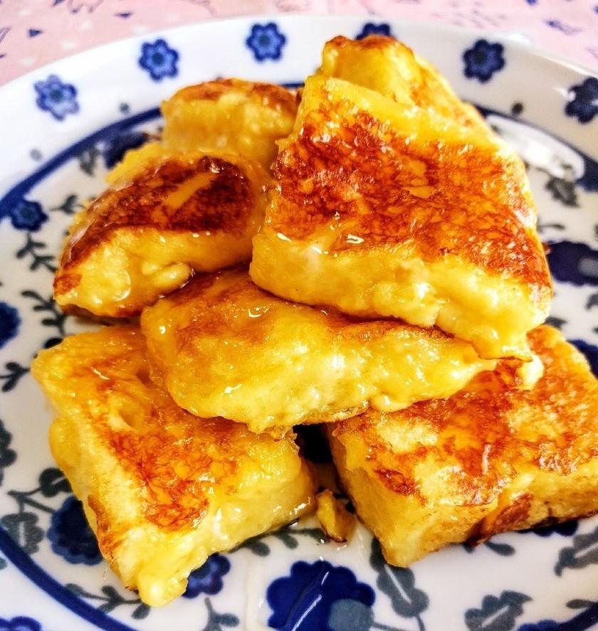 冷凍食パンで☆絶品フレンチトースト☆簡単