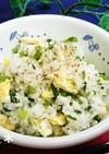 *高菜と炒り卵の混ぜご飯*