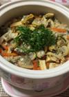 簡単!あさりの土鍋で炊き込みご飯★☆★