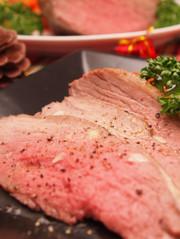 仔牛ランプ肉のローストの写真