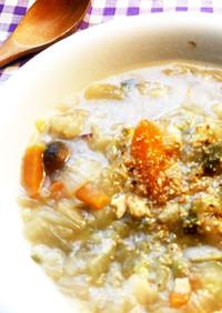 痩せる・便秘!リッチ濃厚野菜スープ