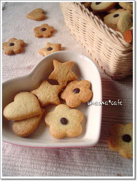 子供と一緒に型抜きクッキー