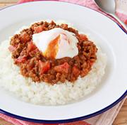 大豆のお肉のキーマカレーの写真
