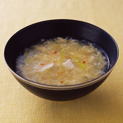 豆腐と卵のスープ
