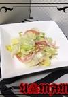 レタスとカニカマの中華サラダ