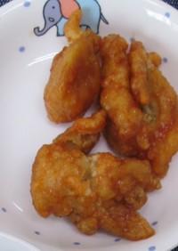 鶏肉の甘辛揚