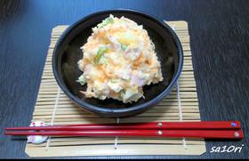魚肉ソーセージで!小料理屋ポテトサラダ