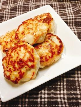 超簡単☆包丁いらずの味噌チーズつくね