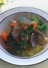 アサリと彩り野菜のシチュー