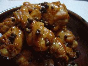 鶏手羽もとの山椒煮