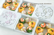 可愛い一口寿司3種  ①の写真