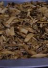 作り置きおかず2:キノコのオイスター炒め