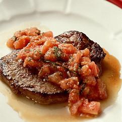トマトソースステーキ