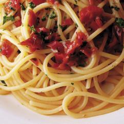 ドライトマトのスパゲッティ