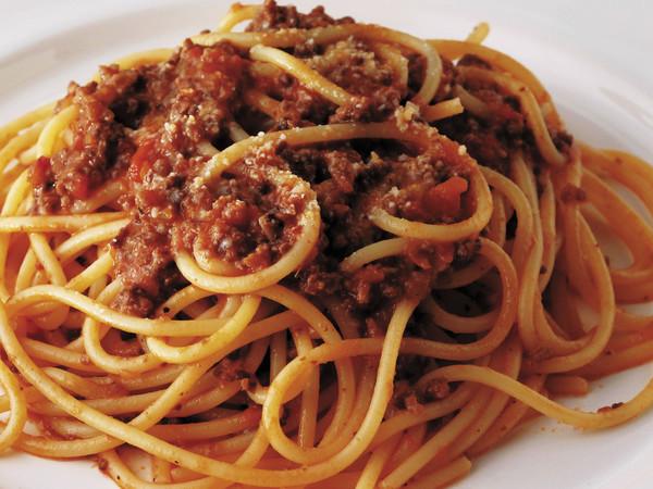 スパゲッティのボローニャ風ミートソース