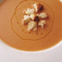 白いんげん豆のクリームスープ