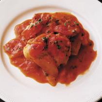 鶏肉のソテー、ローマ風