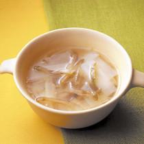 ねぎとザー菜のスープ