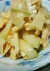 簡単!セロリとりんごのシャキシャキサラダ