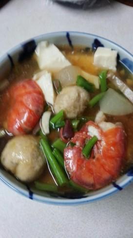 海老煮物(血管ダイエット1089)