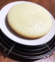 簡単!炊飯器でふわふわ蒸しケーキ!卵不要の写真