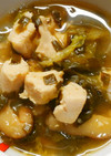 鶏ささみとレタスと青梗菜ニラのさっぱり煮