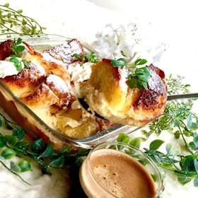 忙しい朝に耐熱皿一つでフレンチトースト