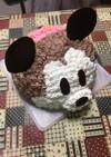 ミッキーの立体(ドーム)ケーキ覚書