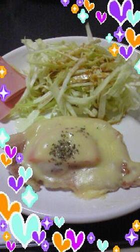 豚ローストマトONチーズ
