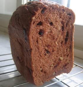 HBで☆チョコブラウニー風食パン