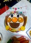 アンパンマン立体ケーキ^ω^
