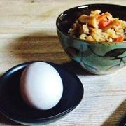 炊き込みご飯de卵かけご飯☆アレンジ☆の写真