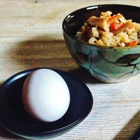 炊き込みご飯de卵かけご飯☆アレンジ☆